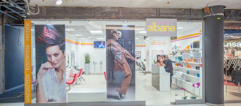 Camille Albane Salon Fryzjerski Galeria Madison Shopping Center